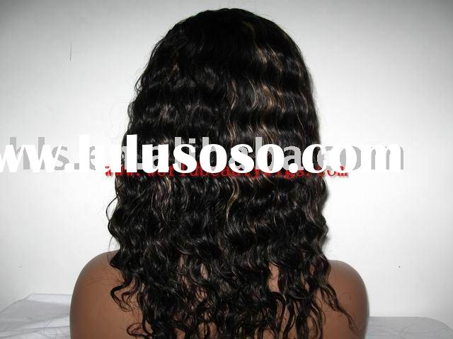 hair length 14'' color 1b#27# deep wave cap size M lace dark brown wigs high quality