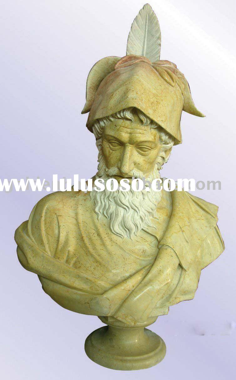 hand carved statue,bust statue, stone statue