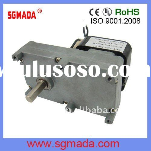 high torque low rpm gear motor AC/DC