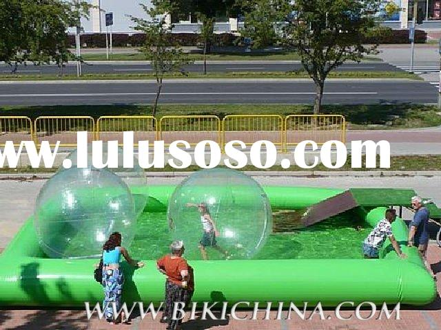 hot inflatable water walking ball and inflatable pool for sell