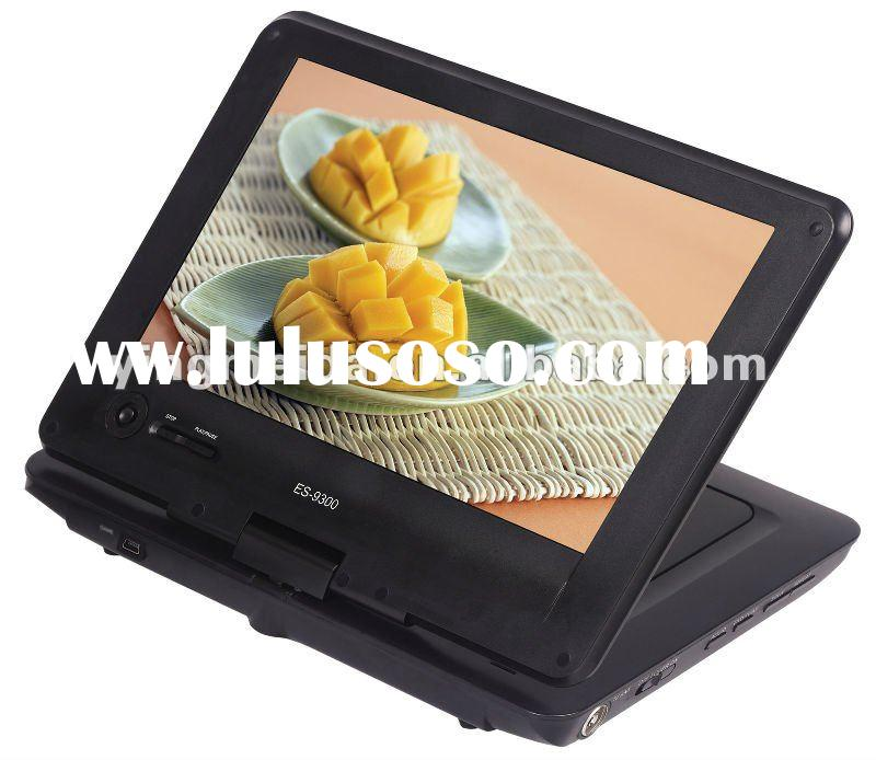 hot selling 9inch cheap portable dvd player with tv tuner (905C ,ONE KEY NAVIGATION)