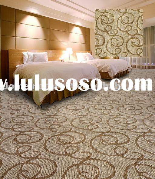 hotel carpet Broadloom tufted cut loop wall to wall carpet domeino