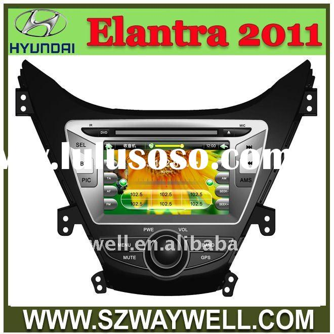 hyundai I35 AVANTE ELANTRA 2011-2012 year 2 Din HD Car DVD with GPS/ Blue tooth/I-POD control/Radio/