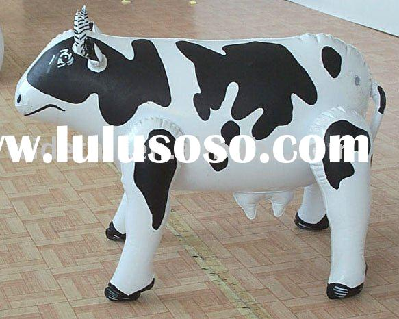inflatable ride on animal toy for kids
