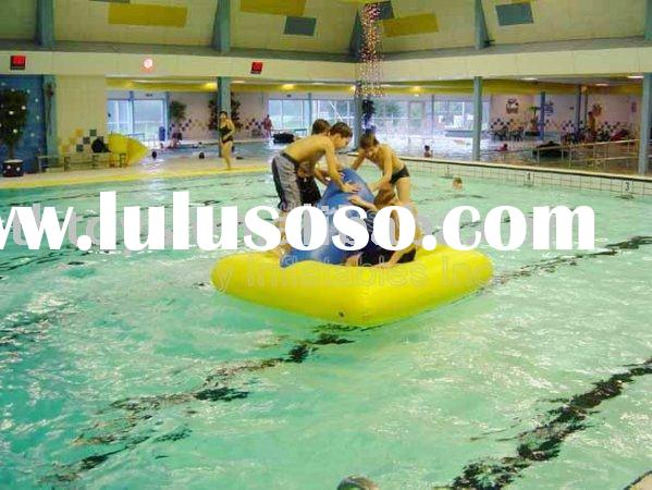 inflatable water game, Floating Island, water park toys