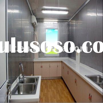 inside living house container (Kitchen room)