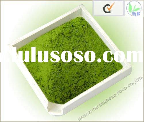instant matcha tea powder green