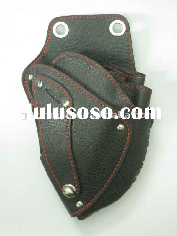 leather hair stylist scissor bags