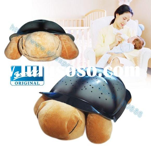 lint The 2nd Night Light,Music &Star Turtle,for baby playing and sleeping!>>&g