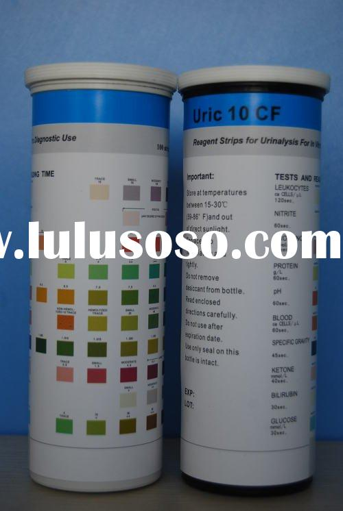 Blood glucose testing with reagent strip can you