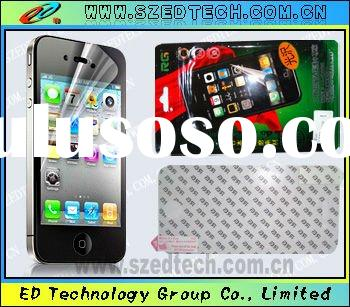 mobile phone Mirror screen protective film for iphone4