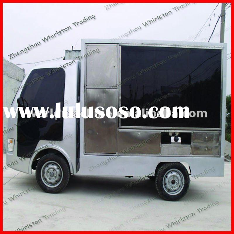 most popular and modern electric food carts for sale