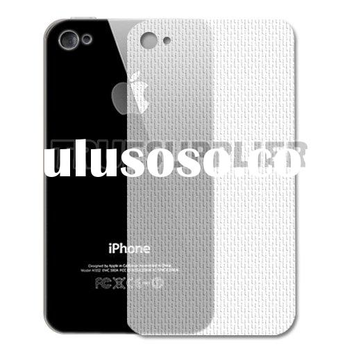 new hot wholesale cell phone Back Protective Film Skin for Apple iPhone 4