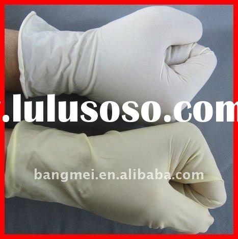 non sterile disposable medical latex gloves with CE,ISO