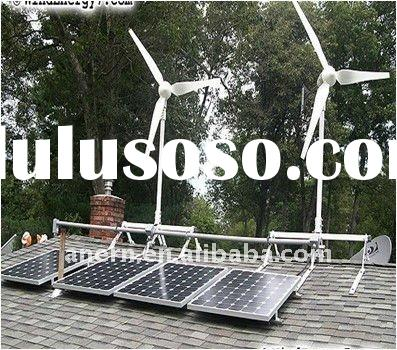 off grid hybrid solar wind power system