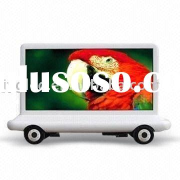outdoor advertising led truck display