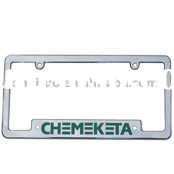 plastic license plate frame (USA size-013)