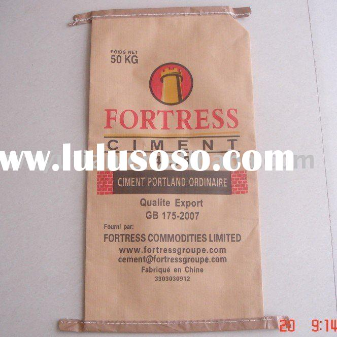 plastic&paper compound bag for cement packing
