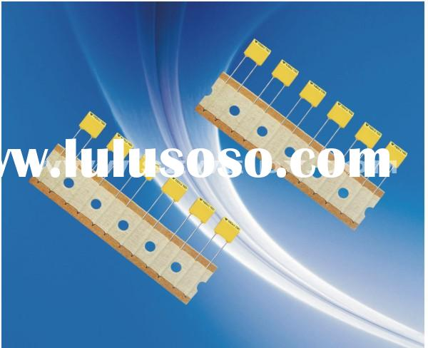 polyester film capacitor - yellow MKT