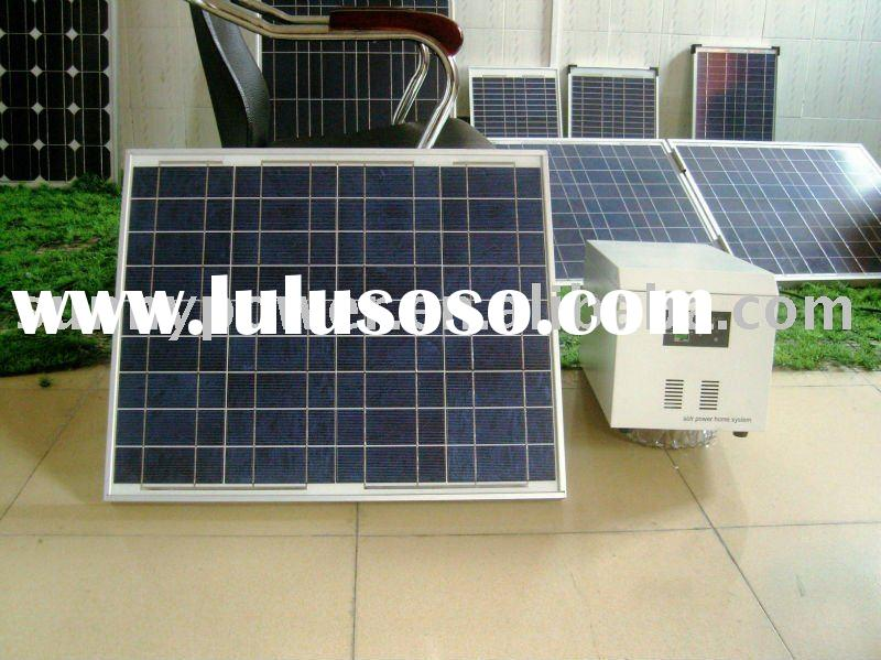 portable small solar home system 50w