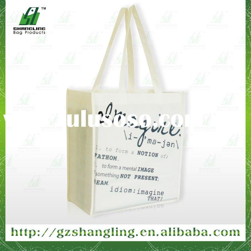 promotional 90G non woven bag shopping Bag with printing