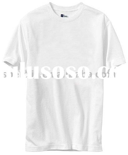 pure cotton light weight seamless solid colour round neck t shirt