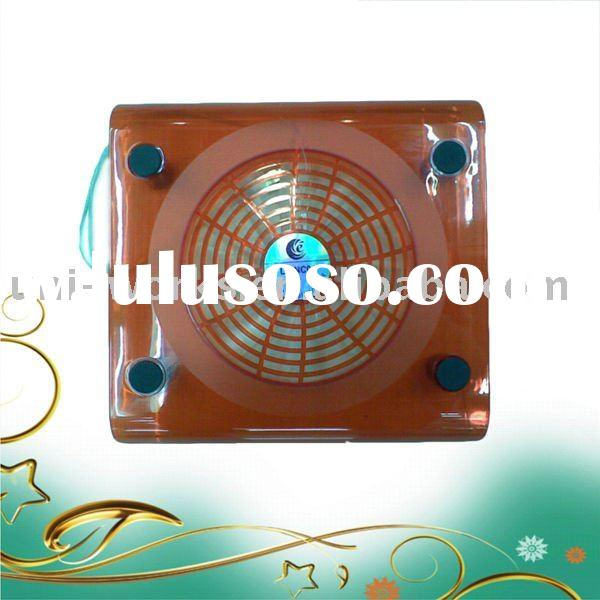 red notebook cooler pad fan