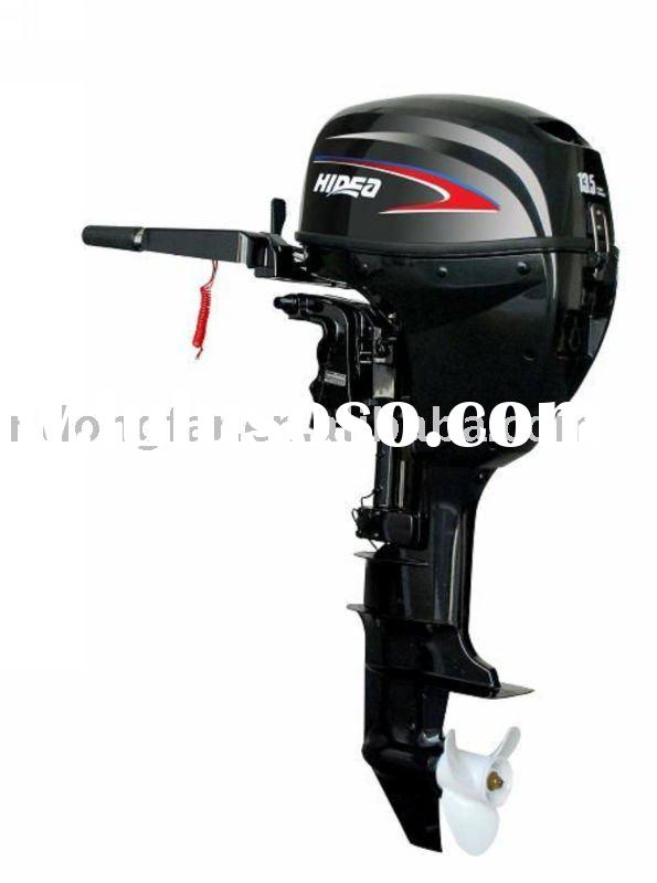 sell 13.5hp outboard engine with 4 stroke