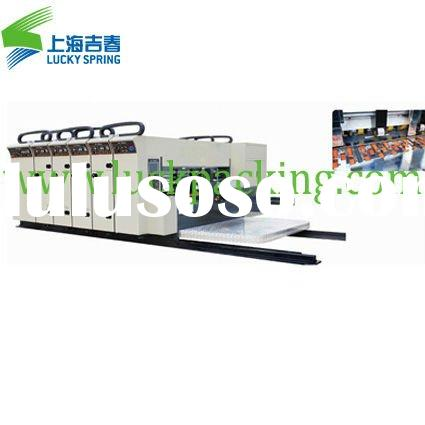small machine for flexo printing for corrugated paper printing
