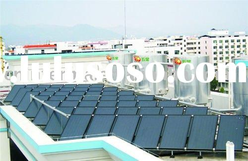 solar heating system with popular design for swimming pool