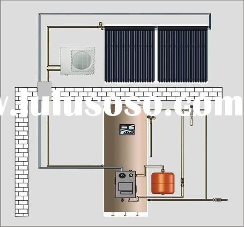 split solar water heating system,solar water heating ,solar water heating system