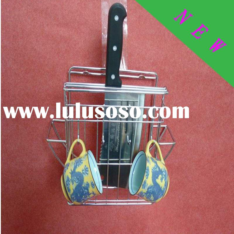 stainless steel kitchen holder knife cutting board stand cutting tool rack
