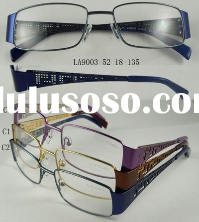 stinless steel optical frames stocks/Readymade optical frames(stainless steel) without MOQ at the be