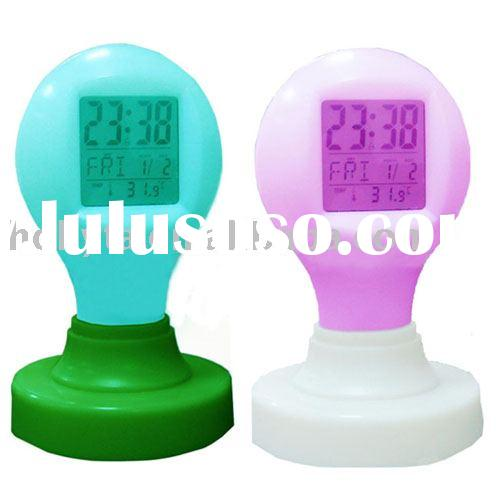 table clock.alarm clock,desk clock,LCD clock,plastic clock,digital clock,electronic calendar, LCD di