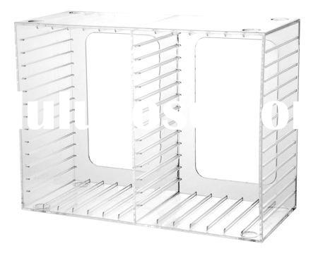 tabletop acrylic CD/DVD rack(housewares)