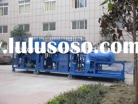 used lubricants recover recycle purification regeneration machine -ZYD-5 for engine oil and lubrican