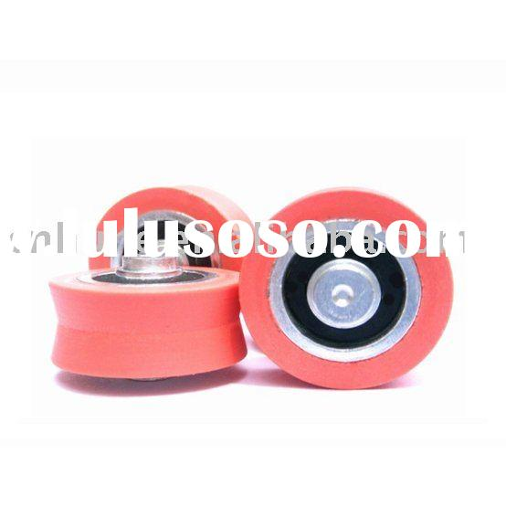 v groove sliding door wheel with shaft