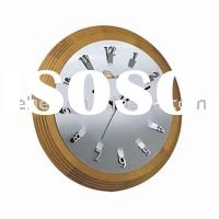 wall clock//clock/quartz clock/wooden clock(CE,ROHS) 8067