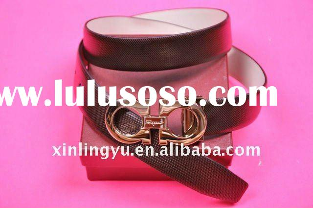 wholesale brand belt Women Skinny leather brand Belt ladies' fashion belts with Pin Buckle M