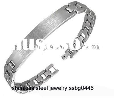 wholesale fashion magnetic stainless steel bracelets