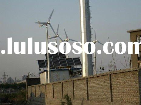 wind mill generator + solar panel off grid working system 500w-20kw