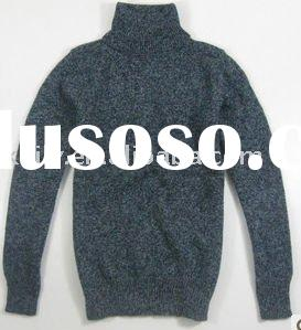 wool high neck sweater for men_sweater mens fashion