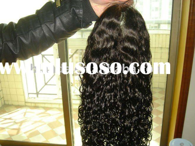 100% human hair glueless full lace wig,hair