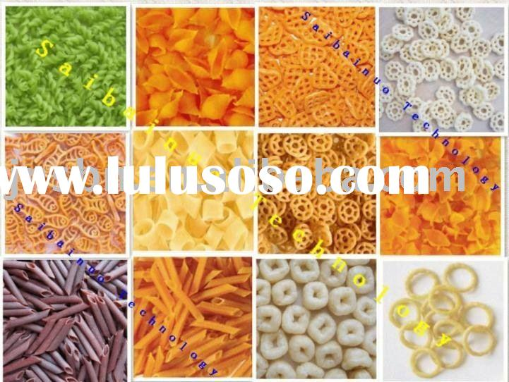 100kg/h ,Macaroni / pasta making machine , single screw extruder