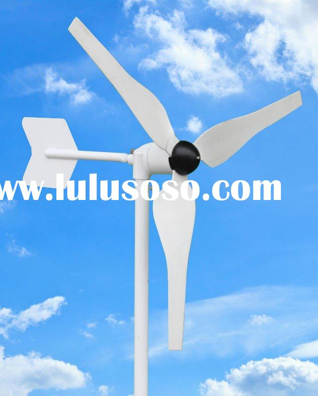 100w AC 12V/24V /50HZ low rmp horizontal wind turbine windmill generator / 3 blades Green Energy Ant