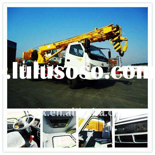 10 ton auto crane,well hydraulic truck crane, raising construction machine for sale