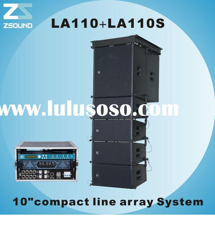 "10"" two-way professional audio line array speaker system"