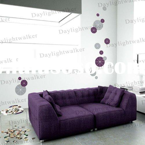 1500 fashion happy new year circles wall decal sticker