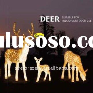 18W,120X150X32cm,3D Sculpture light,Elk,Deer,holiday lighting,decoration lighting