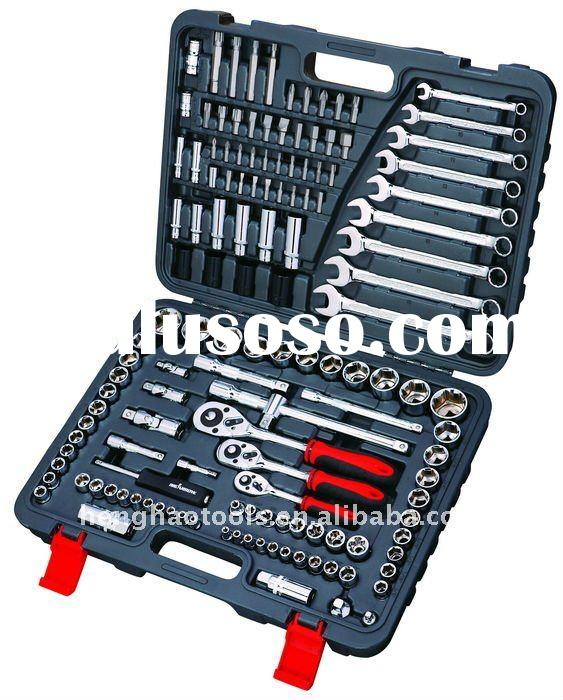 "1/4''&3/8""&1/2"" 138pcs Socket set car repair kit"